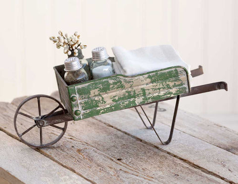 Tabletop Wheelbarrow Kitchen CaddyOld Time ShoppeOther