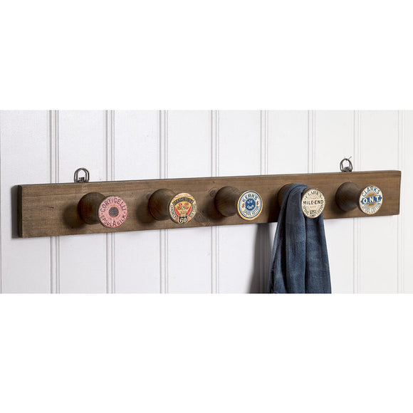 Spool Wall Rack