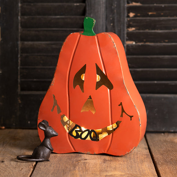 Large Jack-O'-Lantern Candle HolderOld Time Shoppe