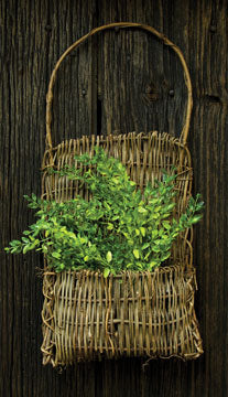 Vine Pocket BasketOld Time Shoppe