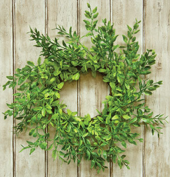 Lemon Beauty Wreath, 9-1/2