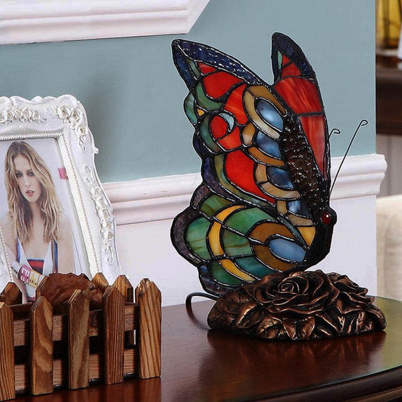Butterfly Table Lamp - Old-Time-Shoppe
