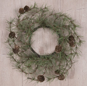 Cypress Pine Candle Ring, 4