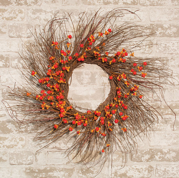 Bittersweet & Twig Wreath, 24