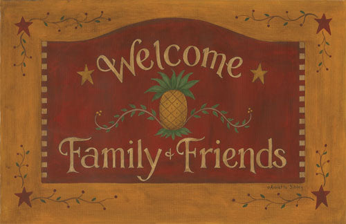 Welcome Family Floor Mat