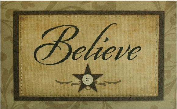 Believe Floor Mat - Old-Time-Shoppe