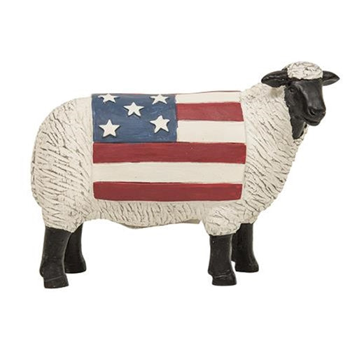 Resin Americana SheepOld Time Shoppe
