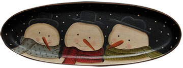 Snow Buddies TrayOld Time Shoppe