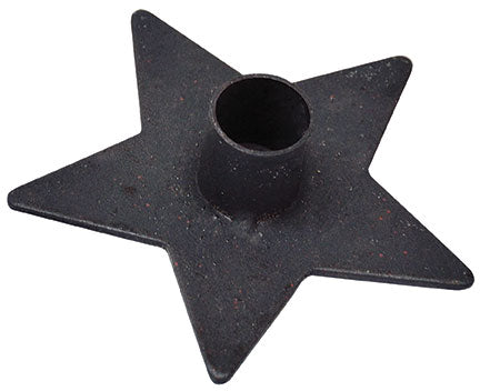 Iron Star Candle HolderOld Time ShoppeTaper Holder