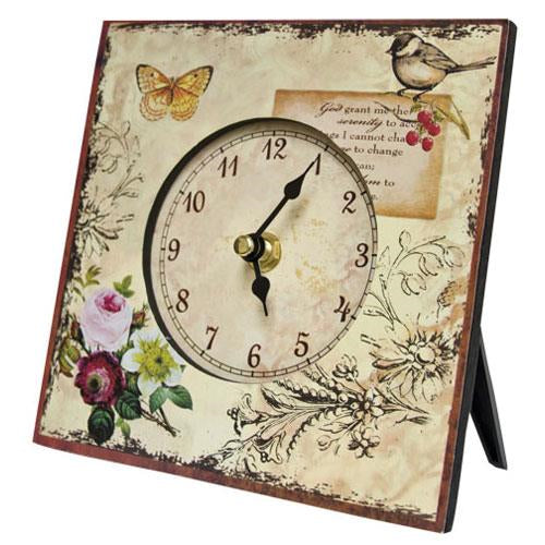Butterfly & Bird Clock - Old-Time-Shoppe