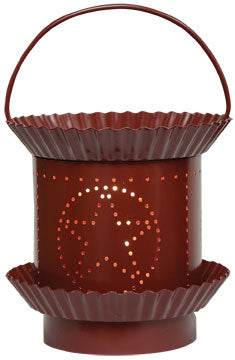 Burgundy Star Tart Warmer - Old-Time-Shoppe
