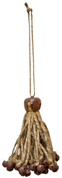 Jute & Bell Bundle OrnamentOld Time Shoppe