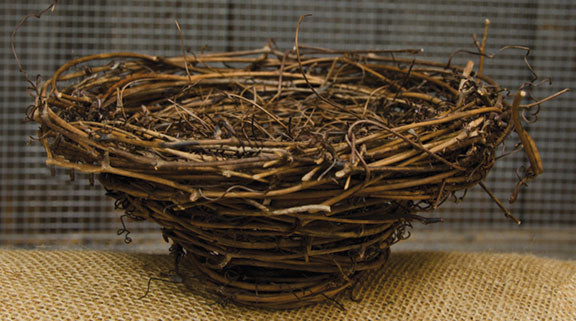 "Bird Nest - 7""Old Time ShoppeBird Nests"
