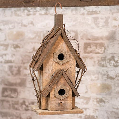 Rustic Country Birdhouse