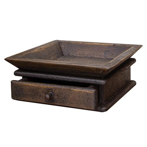 Aged Tray w/DrawerOld Time Shoppe