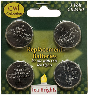 4/pk, Replacement Batteries, 3 Volt - Old-Time-Shoppe