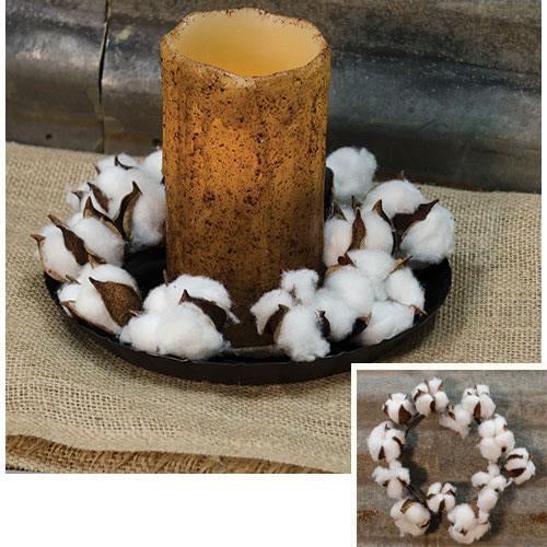 Country Cotton Ball Ring, 4