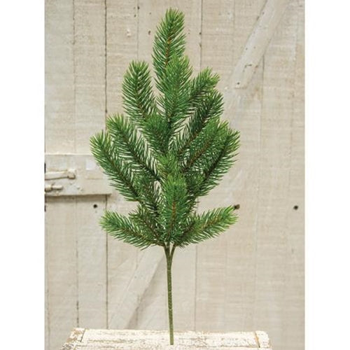 "Evergreen Alpine Spray, 20""Old Time ShoppeGreen"