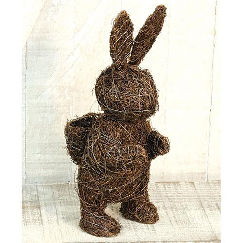 Angel Vine Standing Bunny, 11''Old Time Shoppe