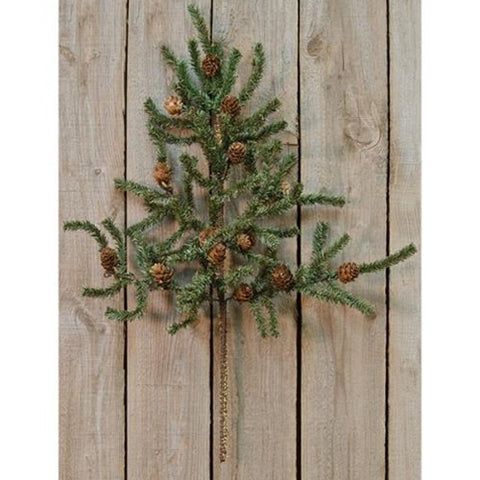 Pine Spray w/Cones, 22""