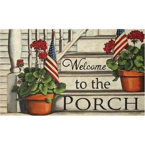 Porch Welcome Floor Mat