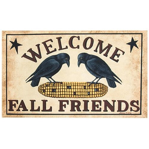 Welcome Fall Friends Mat