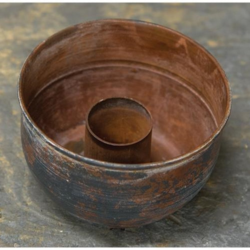 Rustic Taper Bowl