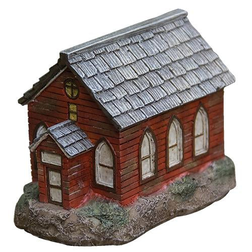 Red Slate House - Lighted!Old Time Shoppe