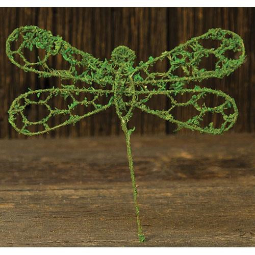 Chicken Wire/Moss Dragonfly - Old-Time-Shoppe