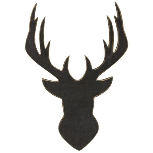 Deer Head SilhouetteOld Time Shoppe