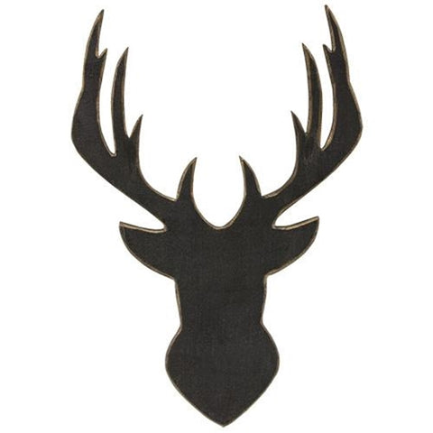Deer Head Silhouette - Old-Time-Shoppe