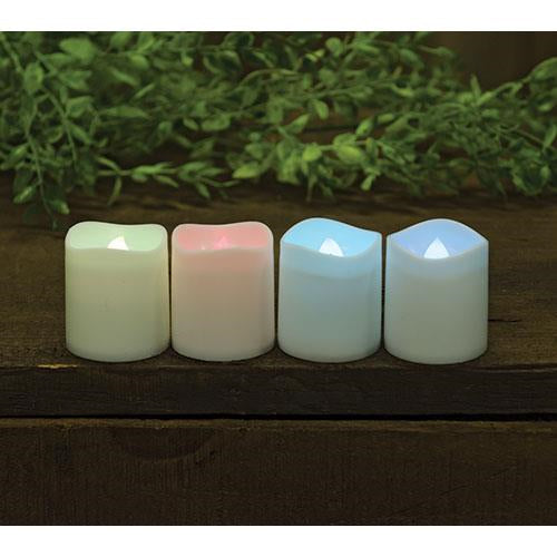 4/Set, Color Changing Tealights - Old-Time-Shoppe