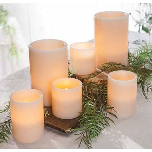 6/Set, LED Flicker Pillars - Old-Time-Shoppe