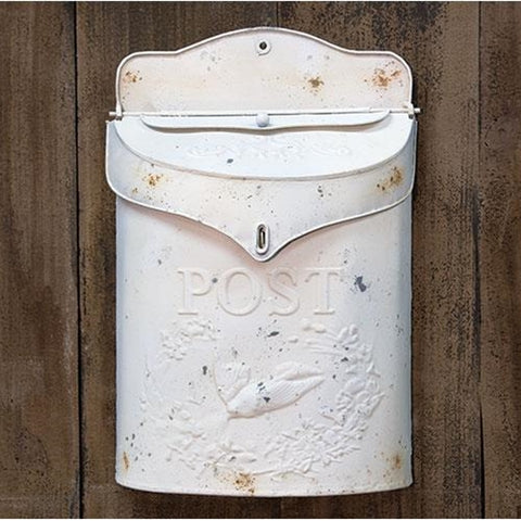 White Post Box