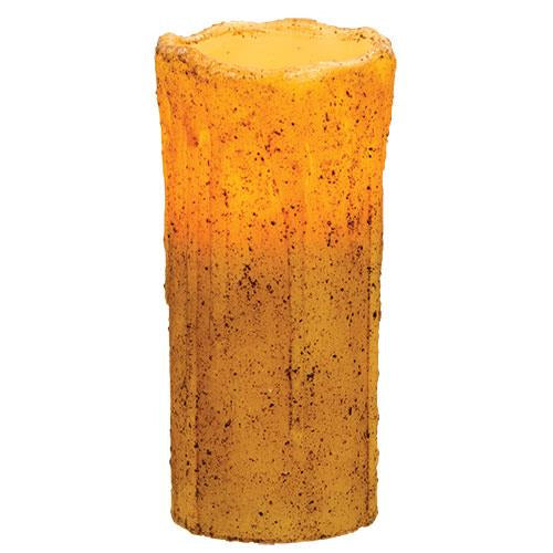 Burnt Ivory Drip Timer Pillar, 7