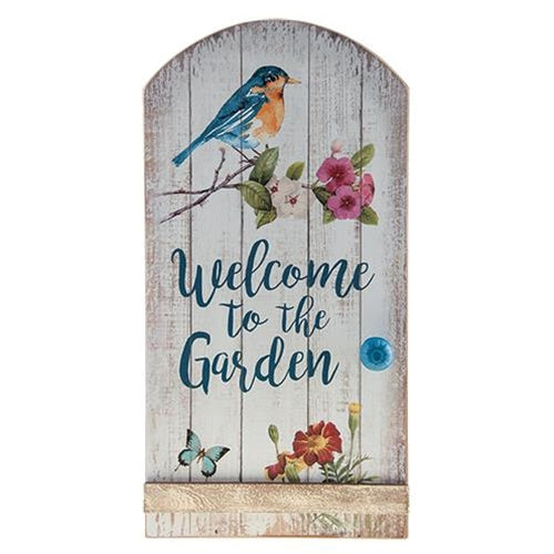 Welcome to the Garden SignOld Time Shoppe
