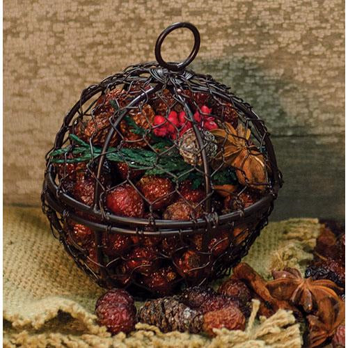 Wire Ball w/Walk in the Woods PotpourriOld Time ShoppePotpourri