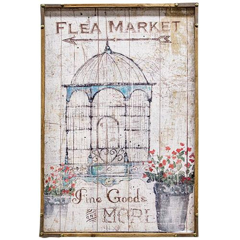 Flea Market Sign - Old-Time-Shoppe