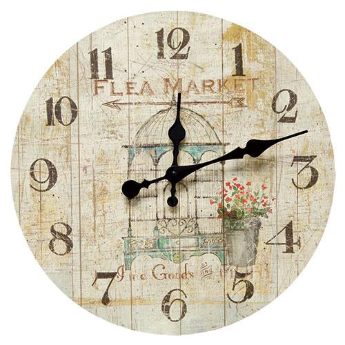 Flea Market Clock - Old-Time-Shoppe
