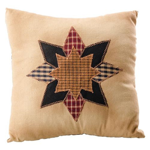 Quilted Starburst Pillow - Small