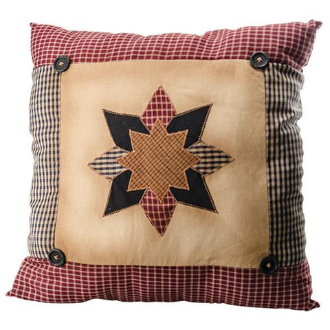 Quilted Starburst Pillow - Large