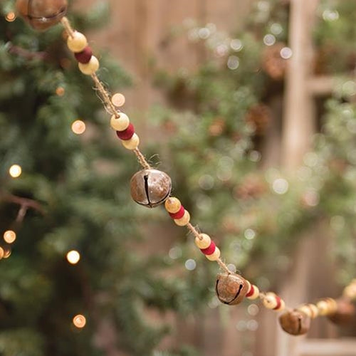Bead & Bell Garland - Old-Time-Shoppe