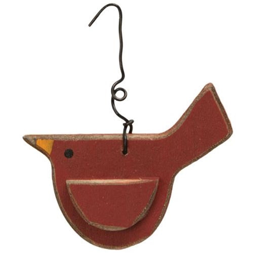 Chunky Cardinal Ornament - Old-Time-Shoppe