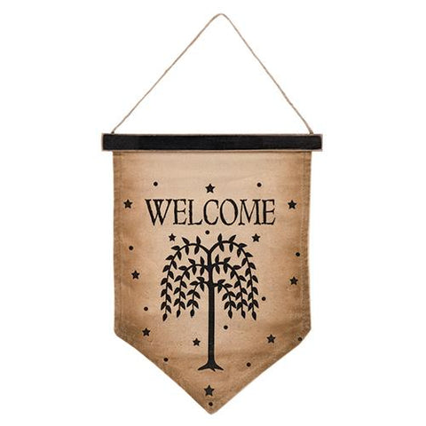 Willow Welcome Flag, 10x13