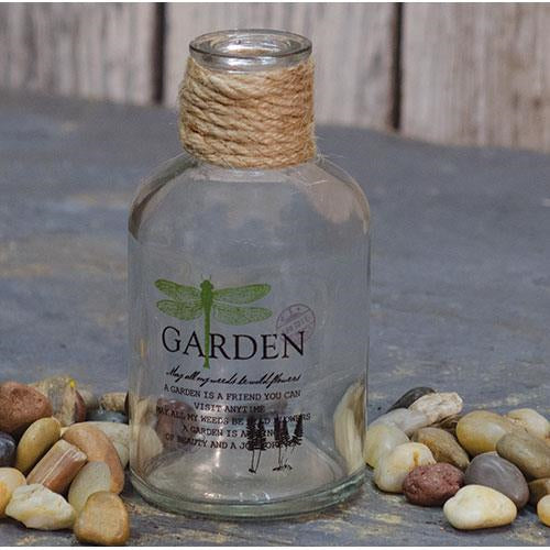 Garden Dragonfly Bottle