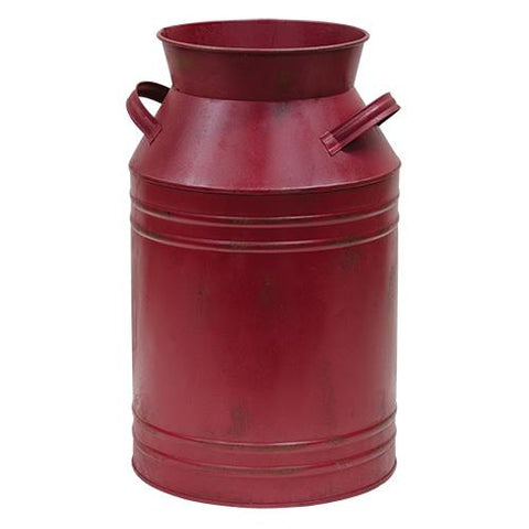Burgundy Milk Can - Various SizesOld Time Shoppe