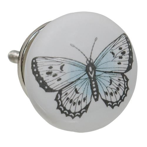 Ceramic Butterfly Knob - Old-Time-Shoppe
