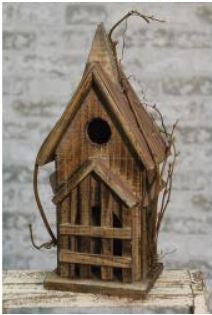 Steepled Birdhouse
