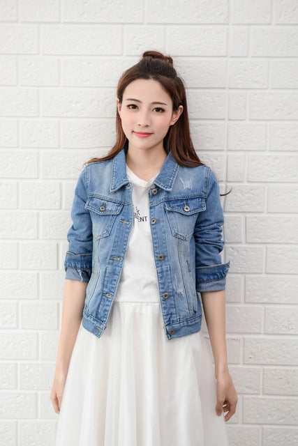 Basic Denim Jean Jacket