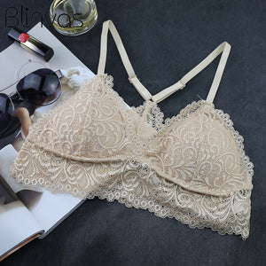 Lace Thin Wire Free Bra